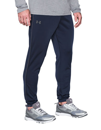 Under Armour Relentless Knitted Warm-Up Pants-NAVY-Medium 89269946_NAVY_Medium