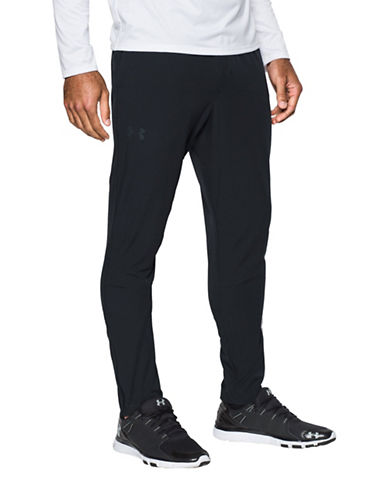 Under Armour HeatGear Taper Training Pants-BLACK-Large 88443794_BLACK_Large