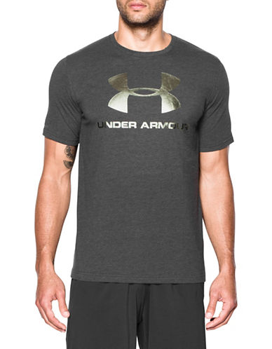 Under Armour Sportstyle Logo T-Shirt-BLACK-Small 89671340_BLACK_Small