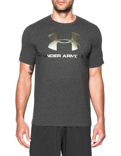 Under Armour Sportstyle Logo T-Shirt-BLACK-X-Large 89671343_BLACK_X-Large