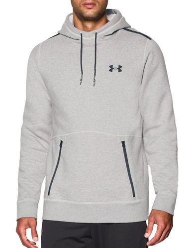 Under Armour Varsity Fleece Hoodie-OFF WHITE-X-Large 88867640_OFF WHITE_X-Large