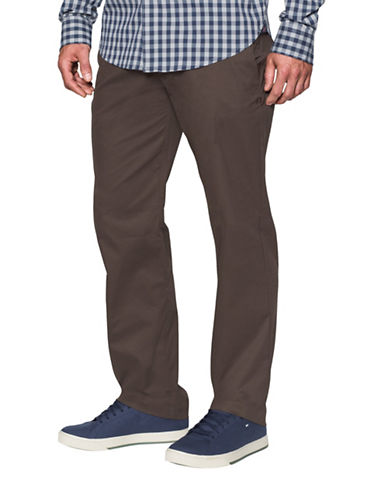 Under Armour Tapered Leg Performance Chino Pants-BROWN-34X32 88443623_BROWN_34X32