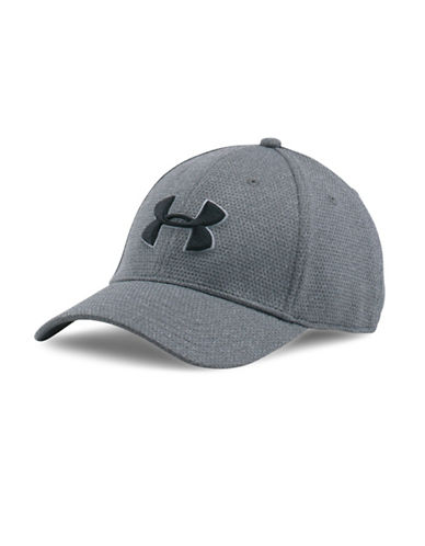 Under Armour UA Heathered Blitzing Cap-NAVY-Large/X-Large