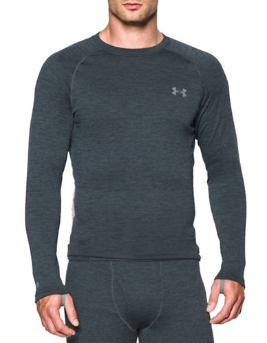 Under Armour UA Base 2.0 Crew Neck Top-LEAD-Medium 88762663_LEAD_Medium