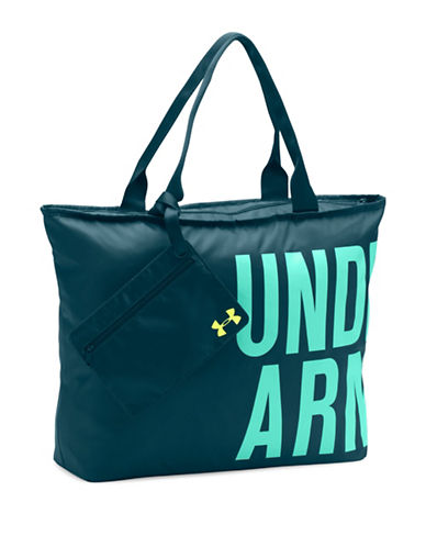 Under Armour Word Mark Tote Bag-BLUE-One Size 88776818_BLUE_One Size