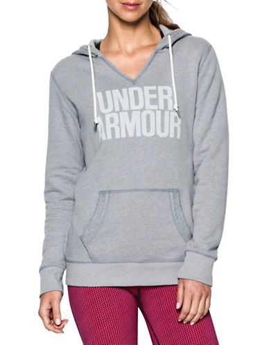 Under Armour Favourite Fleece Hoodie-GREY-Medium 88703982_GREY_Medium