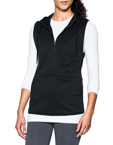 Under Armour Storm Armour Fleece Vest-BLACK-Medium 88675634_BLACK_Medium