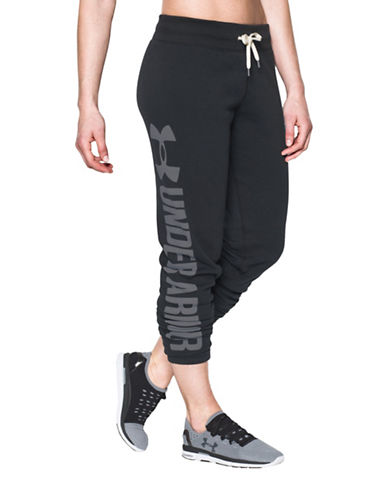 Under Armour Favourite Fleece Joggers-BLACK-Large 88703986_BLACK_Large