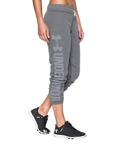 Under Armour Favourite Fleece Joggers-GREY-Small 88703993_GREY_Small