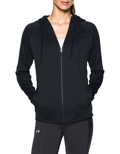Under Armour Solid Long Sleeve Hoodie-BLACK-X-Small 88675647_BLACK_X-Small