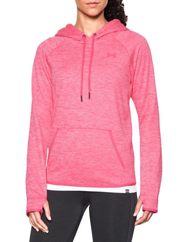 Under Armour Storm Armour Fleece Twist Pullover-PINK SHOCK-Small 88743379_PINK SHOCK_Small