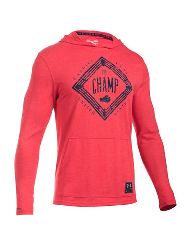 Under Armour Muhammad Ali Printed Hoodie-RED-Large 88443774_RED_Large