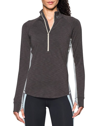 Under Armour ColdGear Half Zip Top-CARBON HEATHER-X-Large 88777449_CARBON HEATHER_X-Large