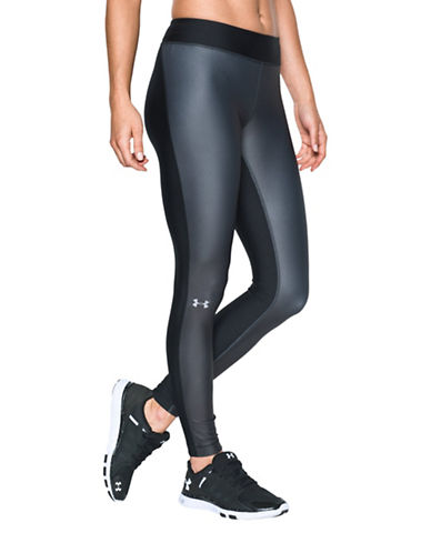 Under Armour HeatGear Armour Engineered Leggings-BLACK/GRAPHITE-Medium 88511660_BLACK/GRAPHITE_Medium