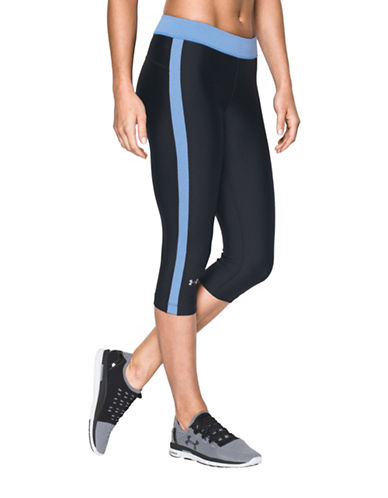 Under Armour HeatGear Armour Sport Capris-BLACK-Large 88511651_BLACK_Large