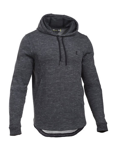 Under Armour Core Baseline Fleece Hoodie-BLACK-Large 88641860_BLACK_Large