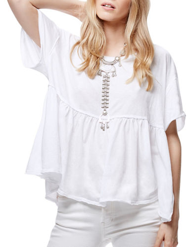 Free People Odyssey Boxy Tee-WHITE-Medium 88879537_WHITE_Medium