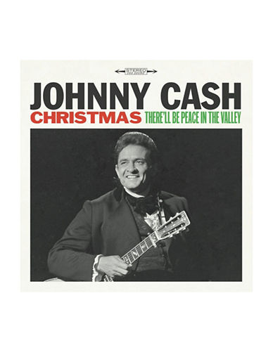 Vinyl Johnny Cash - Christmas LP Record-BLACK-One Size