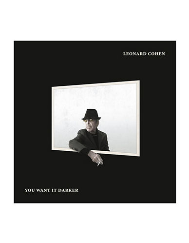 Vinyl Leonard Cohen - You Want It Darker-BLACK-One Size