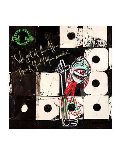 Vinyl A Tribe Called Quest - We Got It from Here Thank You For Your Service-BLACK-One Size