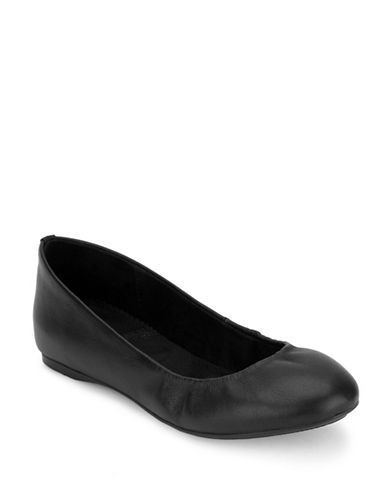 G.H. Bass Felicity Ballet Flats-BLACK-7.5