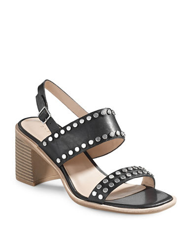 G.H. Bass Rachel Studded Leather Dress Sandals-BLACK-6.5 89129165_BLACK_6.5