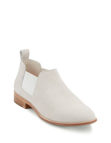 G.H. Bass Brooke Suede Shooties-ROSE-8.5