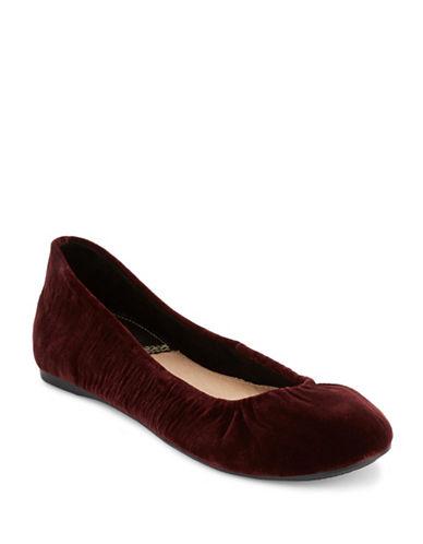 G.H. Bass Felicity Ballet Flats-WINE-7.5