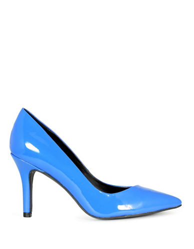 G By Guess Kally Patent Pumps-BLUE-8