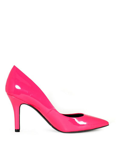 G By Guess Kally Patent Pumps-PINK-7