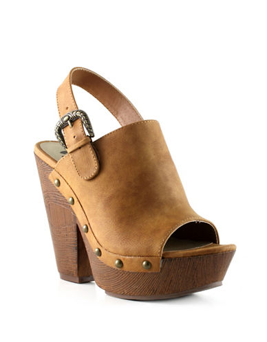 G By Guess Wooden Platform Sandals-BROWN-6 88210464_BROWN_6