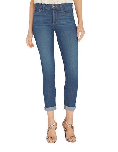 Nydj Anabelle Skinny Boyfriend Jeans-BLUE-8