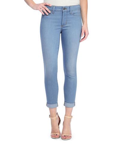Nydj Anabelle Skinny Boyfriend Jeans-BLUE-8 plus size,  plus size fashion plus size appare