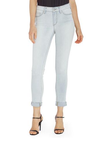 Nydj Anabelle Skinny Boyfriend Jeans-BLUE-12