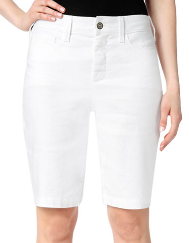 Nydj Catherine Stretch Shorts-WHITE-14