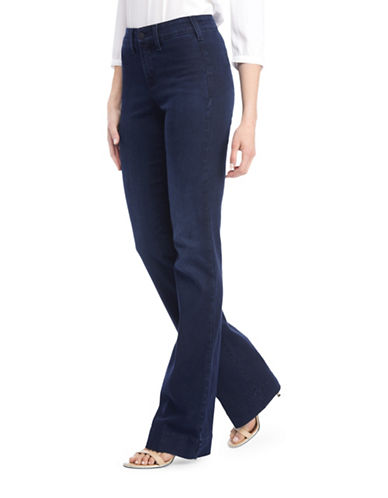 Nydj Teresa In Future Fit Denim Trouser Jeans-BLUE-2