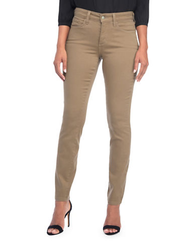 Nydj Stretchy Lift and Tuck Jeggings-BEIGE-0