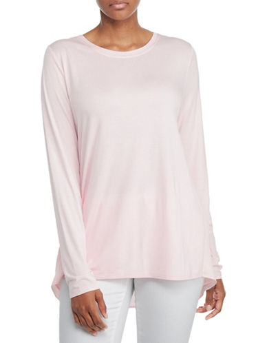 Nydj Mixed Drape Back Top-PINK-X-Small 88922702_PINK_X-Small