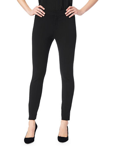 Nydj Straight-Fit Ankle Pants-BLACK-4