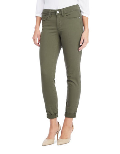 Nydj Alina Convertible Ankle Jeans-GREEN-14