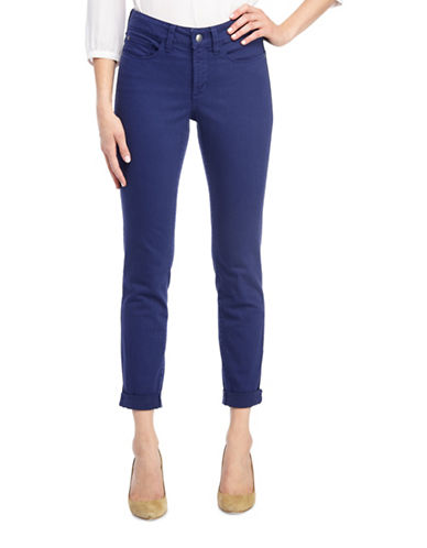 Nydj Alina Convertible Ankle Jeans-BLUE-6