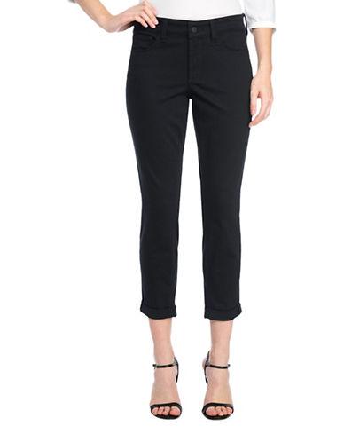 Nydj Alina Convertible Ankle Jeans-BLACK-6