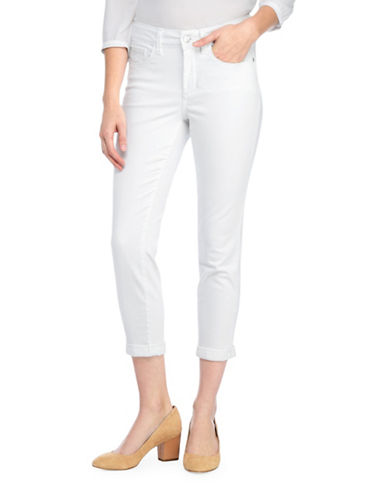 Nydj Alina Convertible Ankle Jeans-WHITE-8