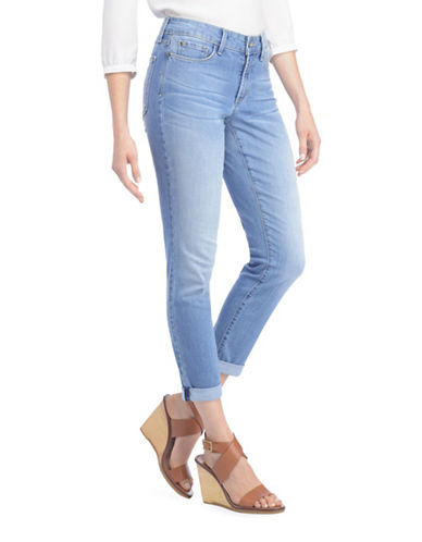 Nydj Clarissa Convertible Ankle Jeans-BLUE-6