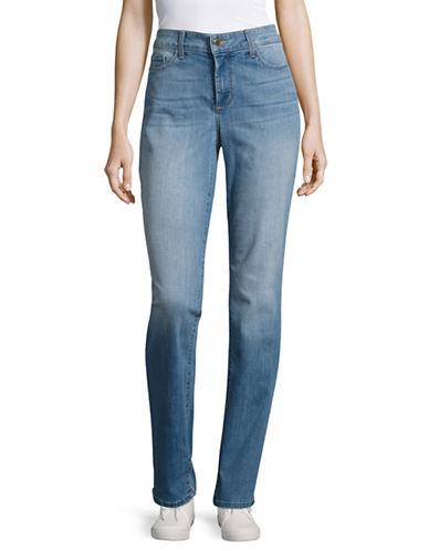 Nydj Slimming Moisture-Wicking Jeans-BLUE-6
