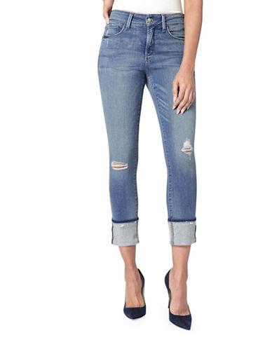 Nydj Alina Wide Frayed Cuff Jeans-BLUE-8