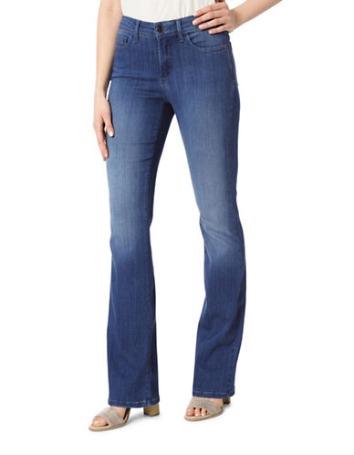 Nydj Barbara Bootcut Denim Jeans-BLUE-12
