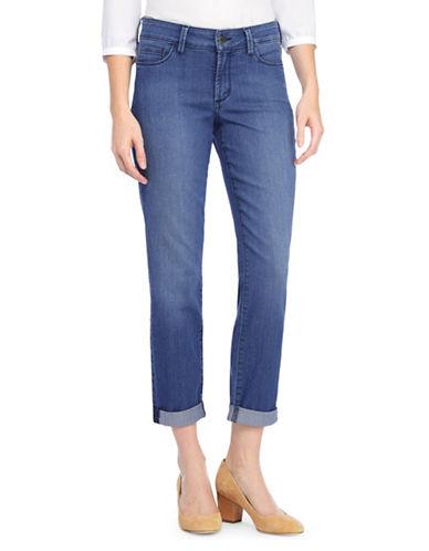 Nydj Jessica Relaxed Boyfriend Jeans-DARK BLUE-0