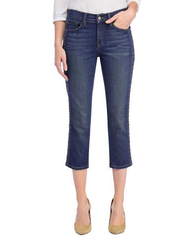 Nydj Alina Capri Denim Jeans-BLUE-4