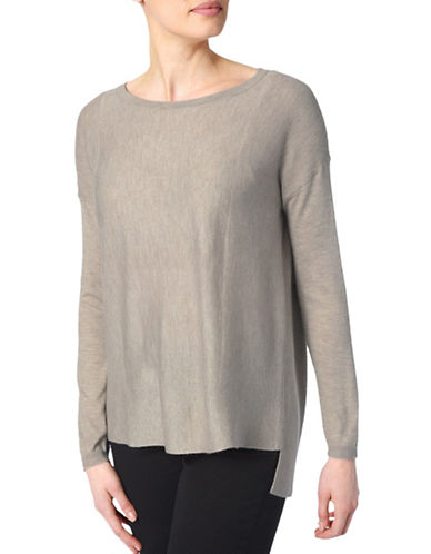 Nydj Versatile Long-Sleeve Top-COPPER-X-Large